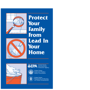 lead pamphlet