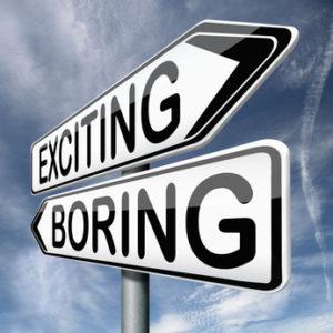 duplex sales exciting or boring