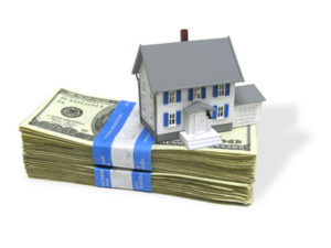 duplex on a stack of cash