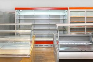 Empty Shelves at the Minneapolis Duplex Store